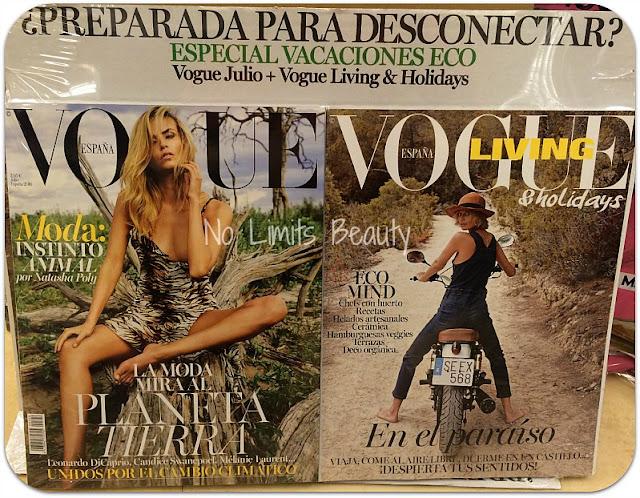 Regalos revistas julio 2016: Vogue