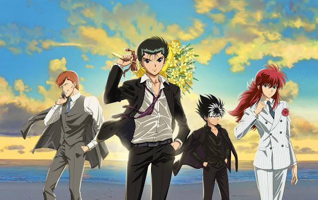 Yu Yu Hakusho Anime inédito 25 anos