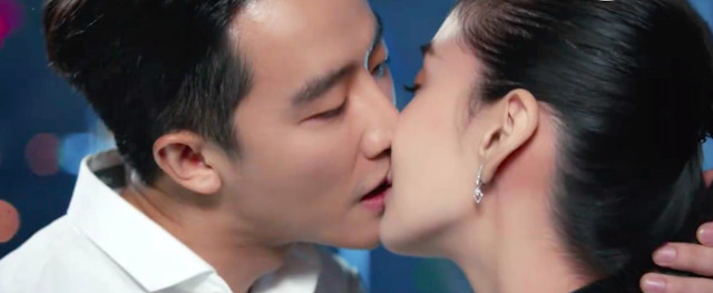 Entrepreneurial Age kissing scene real