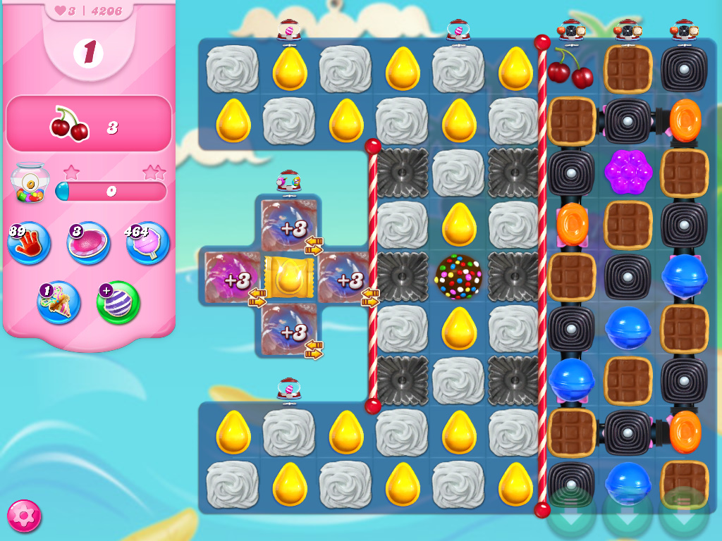 Candy Crush Saga level 4206