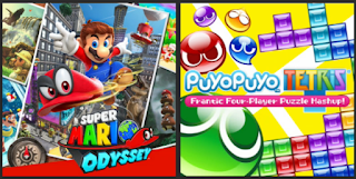 Top 5 Recommended Nintendo Switch Games Of 2017 Super Mario Odyssey Puyo Puyo Tetris