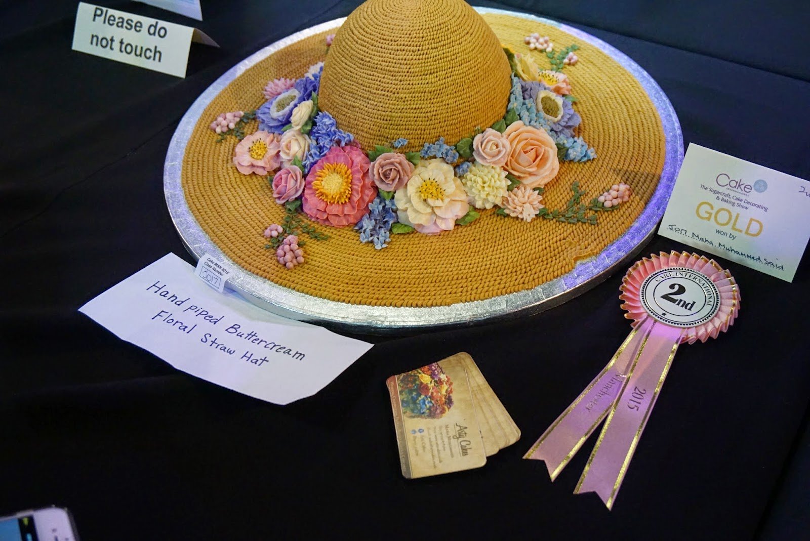 Cake International Show Manchester 2015 Hat Cake