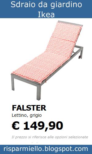 Ikea Sdraio Da Giardino.Risparmiello Sdraio E Lettini Da Giardino Ikea