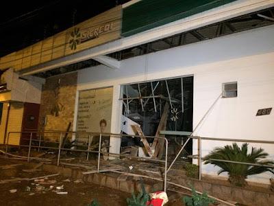 Bandidos assaltam agencias bancárias em Canaã dos Carajás