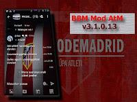 BBM Mod Tema Atletico Madrid Apk v3.1.0.13 Terbaru Free Download