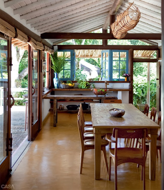 Estilo rustico casa rustica en trancoso brasil - Casas rusticas de campo ...