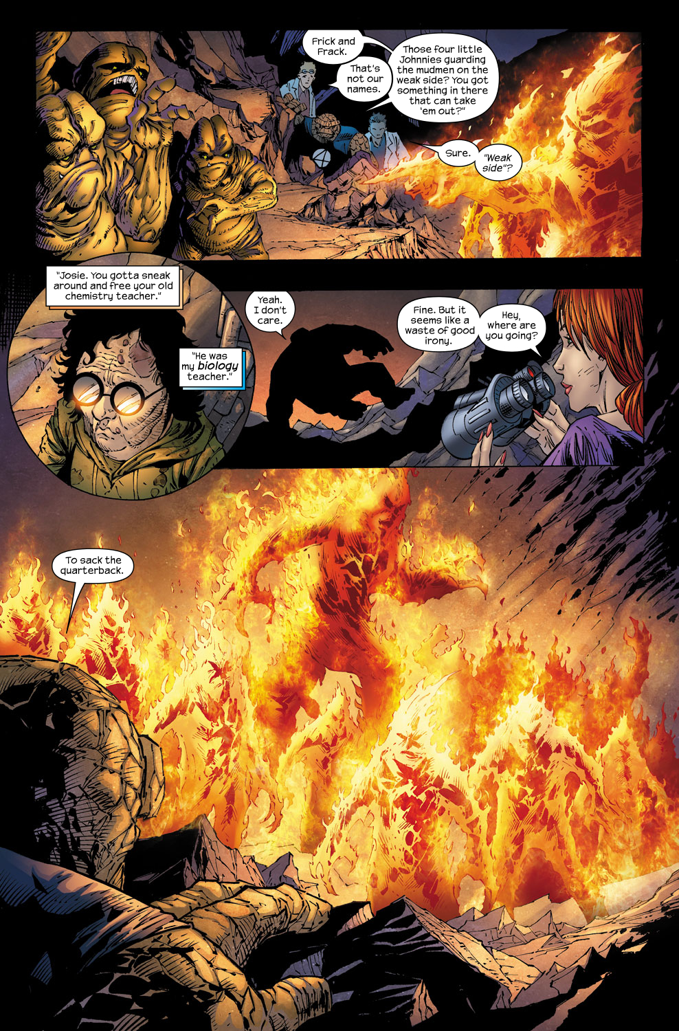 Read online Ultimate Fantastic Four (2004) comic -  Issue #58 - 14