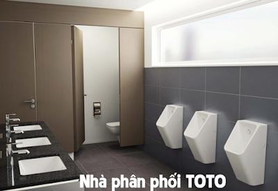 Nhà phân phối TOTO tại showroom Tphcm chính hãng