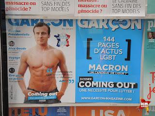 Bericht ueber den neuen französischen Präsident