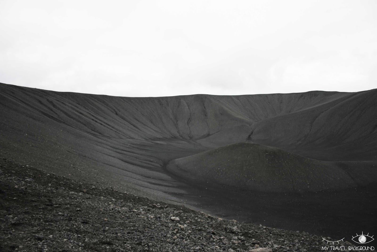 My Travel Background : 2 jours autour du lac Myvatn en Islande - Cratère Hverfjall