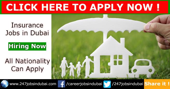 New Insurance Jobs and Vacancies in Dubai