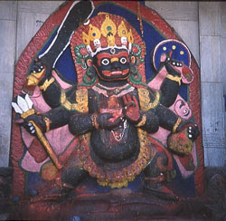 Devoting Kal Bhairav
