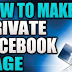 Facebook Private Page