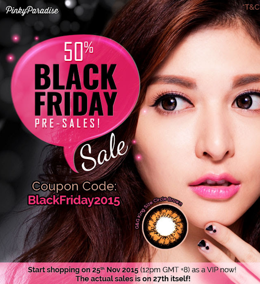 Pinky Paradise Black Friday 50% Sale!