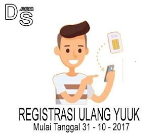 Wajib Registrasi Ulang Kartu Prabayar Anda Sebelum di  Blokir ! Begini Cara Registrasi Ulang Kartu Prabayar All Provider
