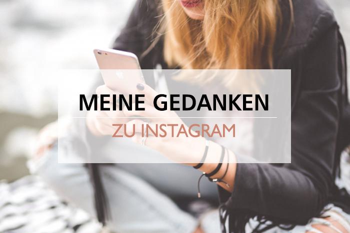 Gedanken zu Instagram