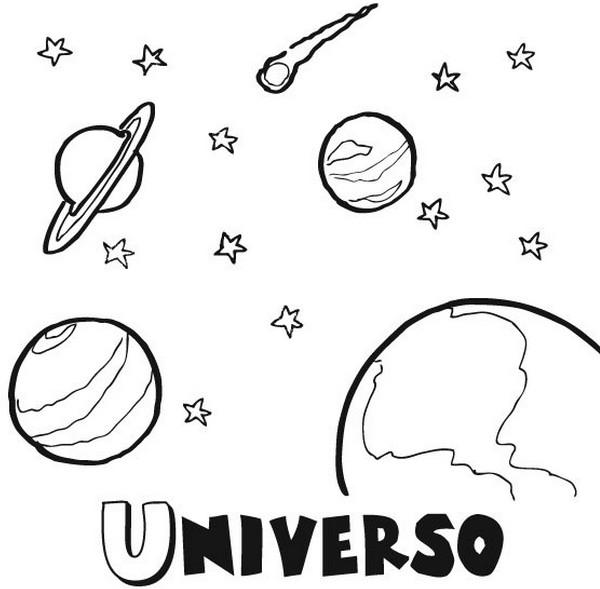 El Sistema Solar - Dibujos para colorear. - Ciclo Escolar