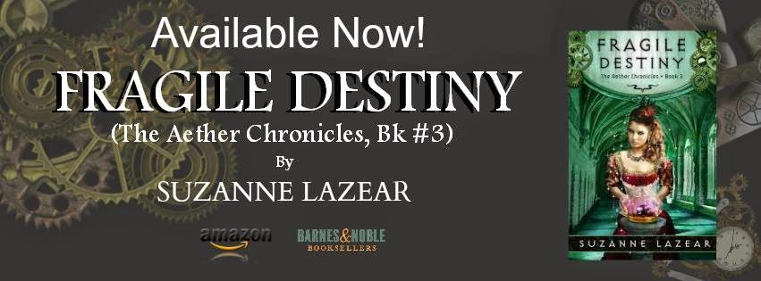 Fragile Destiny Blog Tour-Guest Post by Suzanne Lazear: In Which Noli Attempts to Interview V