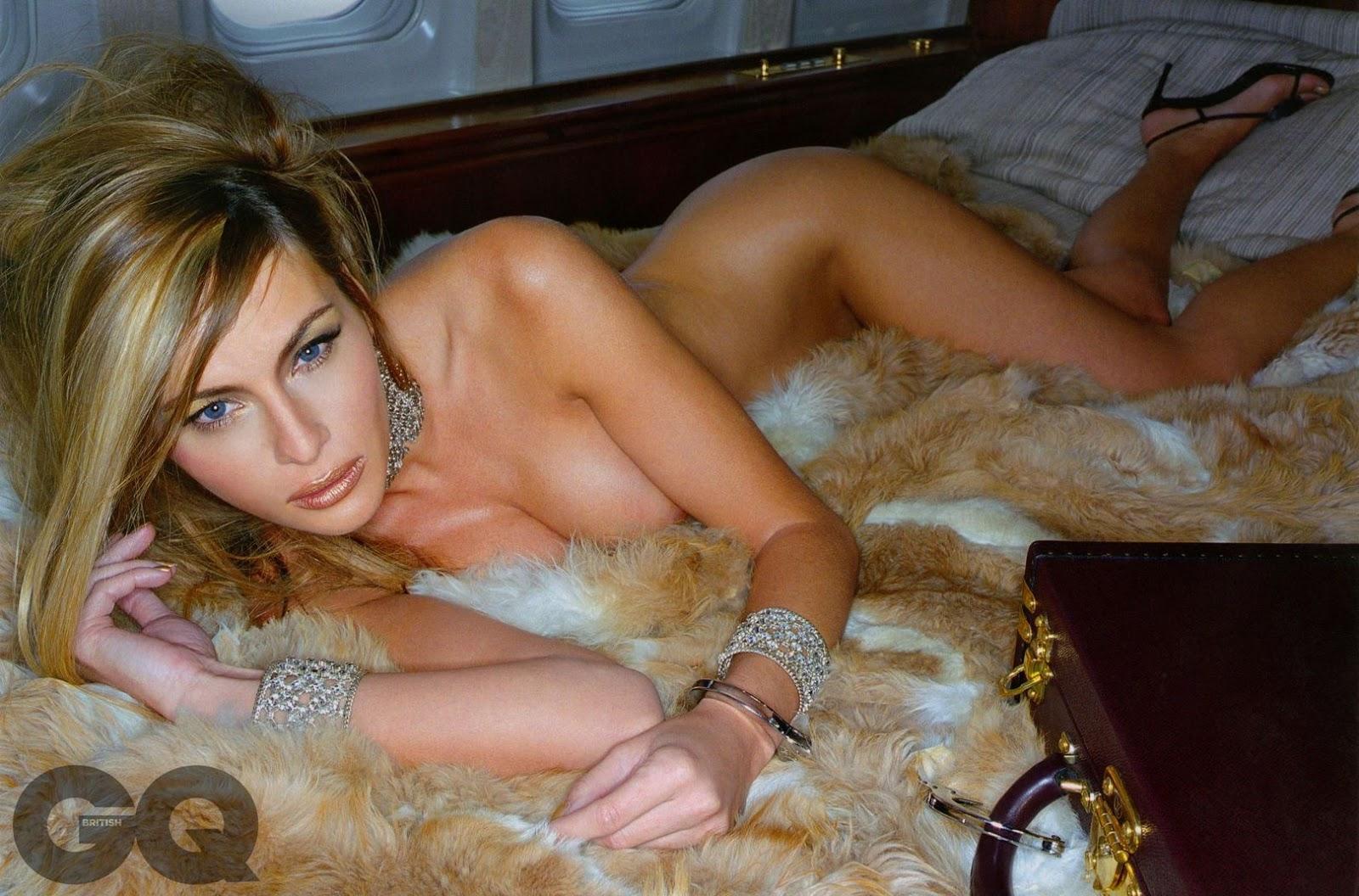 US First Lady Melania Trump - GQ Magazine