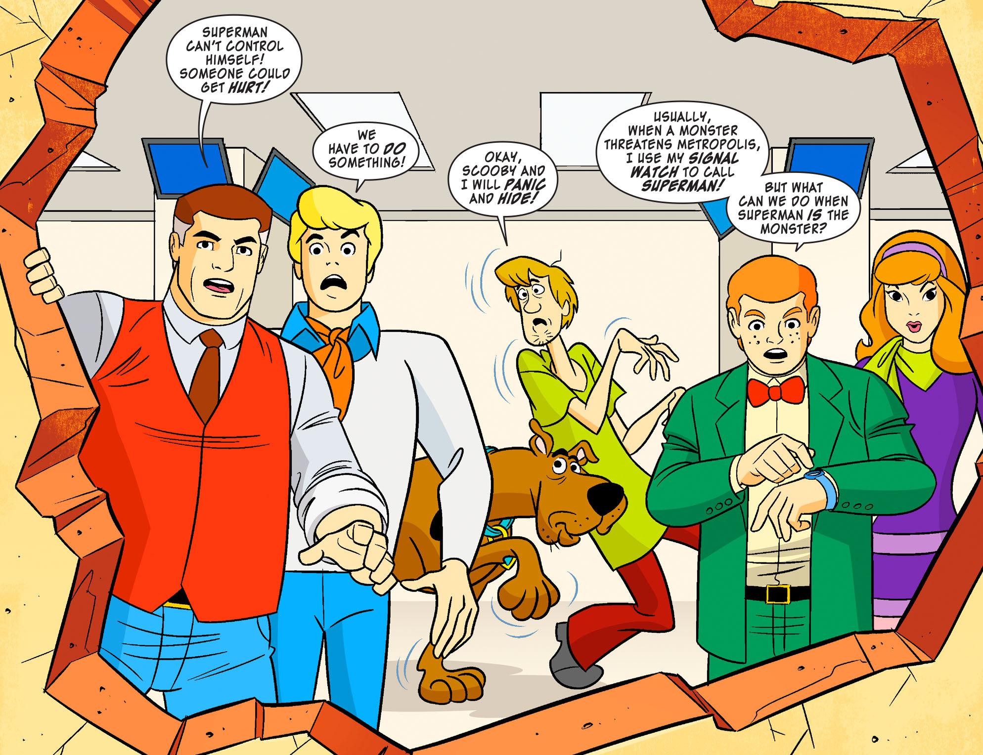 Read online Scooby-Doo! Team-Up comic -  Issue #18 - 4