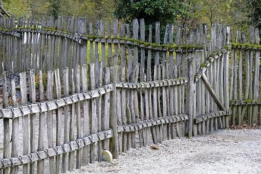 Zaun, Abtrennung, Gatter, Holzzaun