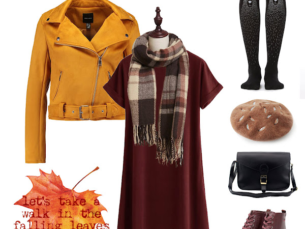Outfit idea: Styling basics to look interesting for fall