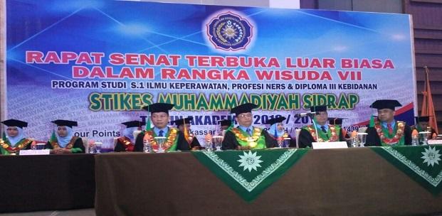Stikes Muhammadiyah Sidrap Cetak 2300 Alumni