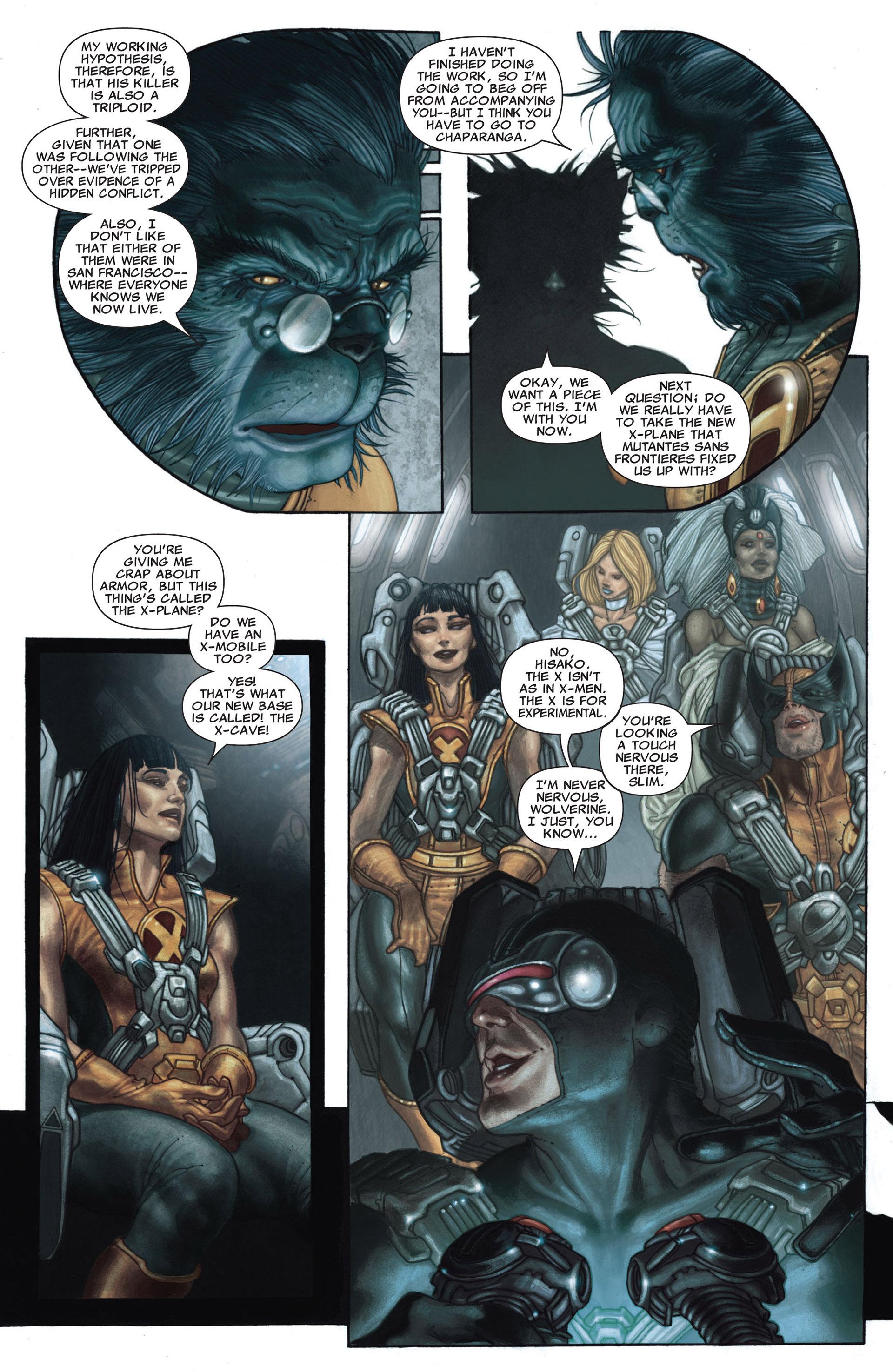 Read online Astonishing X-Men (2004) comic -  Issue #25 - 21