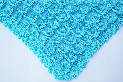 7 - Crochet IMAGEN Punto para chal muy fácil y sencillo. MAJOVEL CROCHET