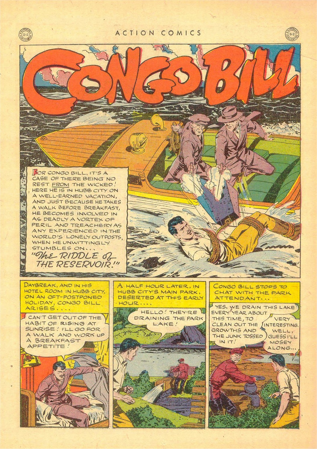 Read online Action Comics (1938) comic -  Issue #80 - 14