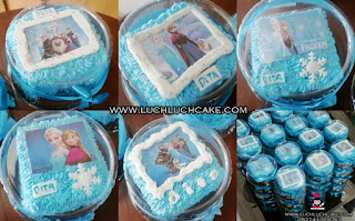 mini cake frozen edible