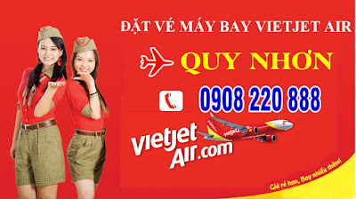 Vé máy bay đi Quy Nhơn hãng Vietjet Air