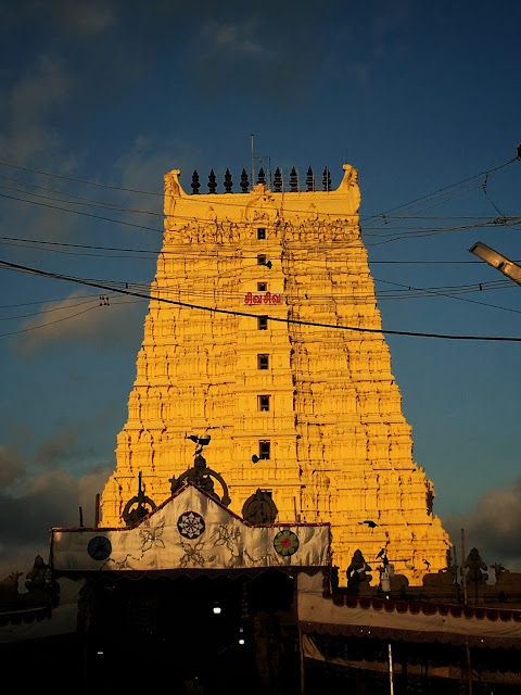 Rameswaram travel blog temple