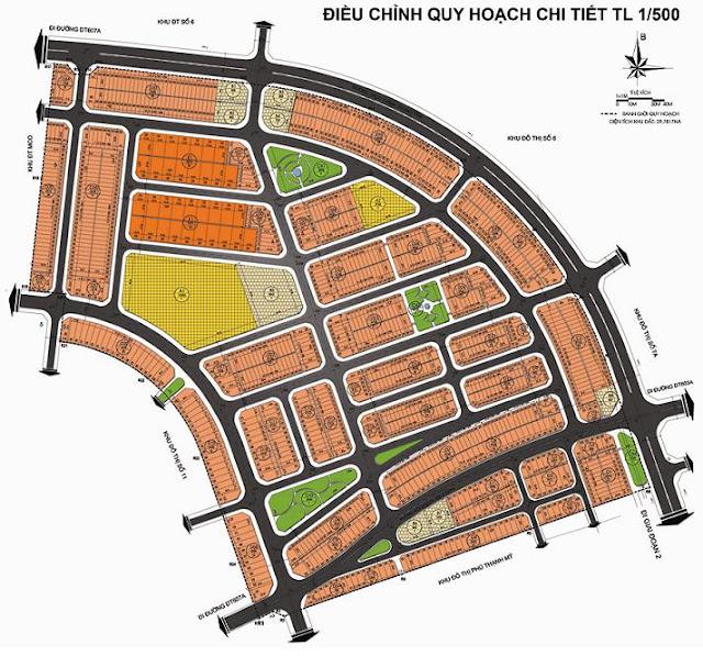 mặt bằng tổng thể dự án Sentosa City