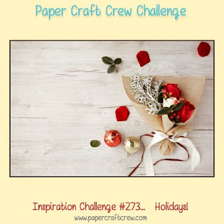 Paper Craft Crew Holidays Inspiration Challenge #273 using Stampin' Up! Products Order from Mitosu Crafts UK Online Shop