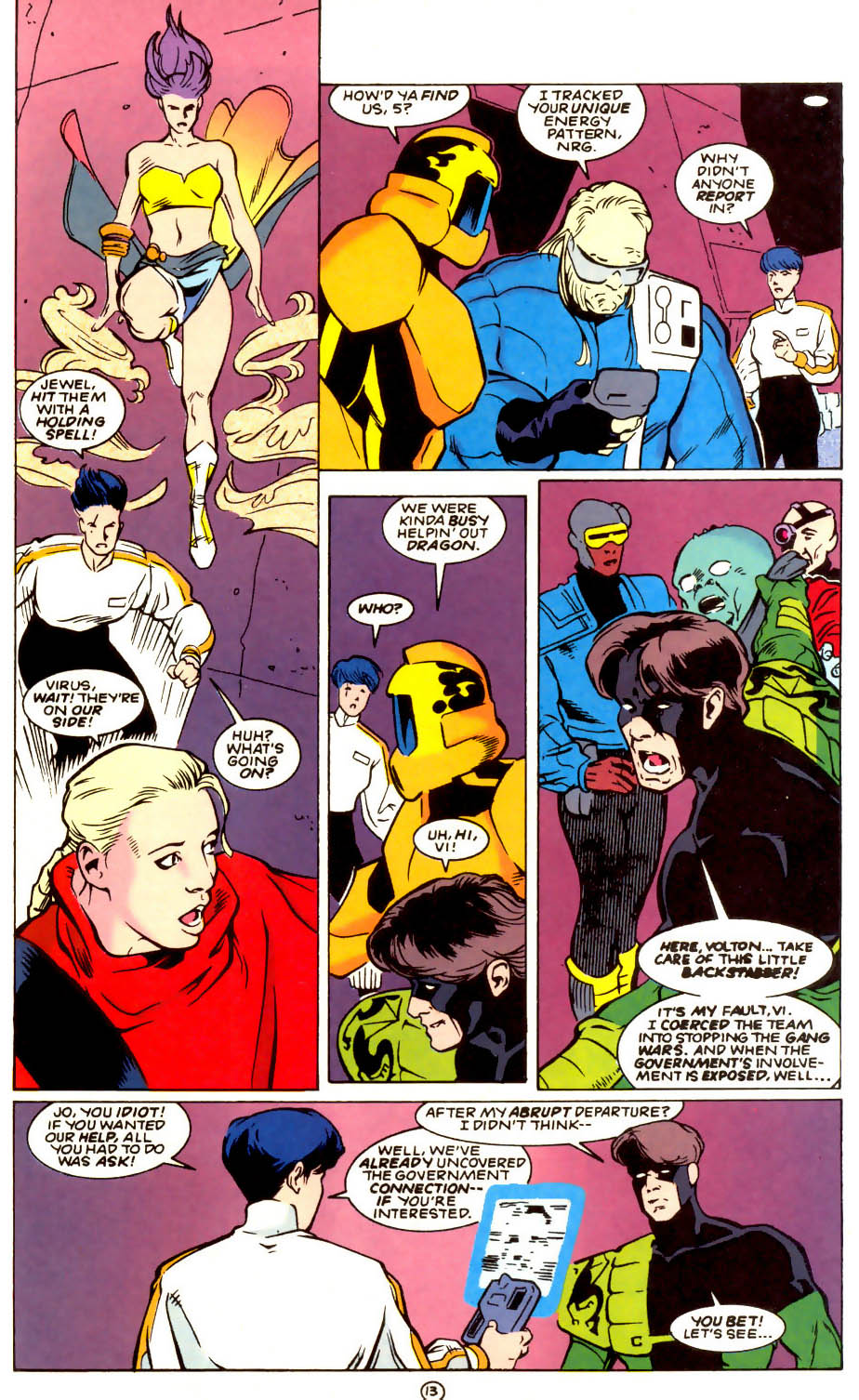 Legion of Super-Heroes (1989) 56 Page 13