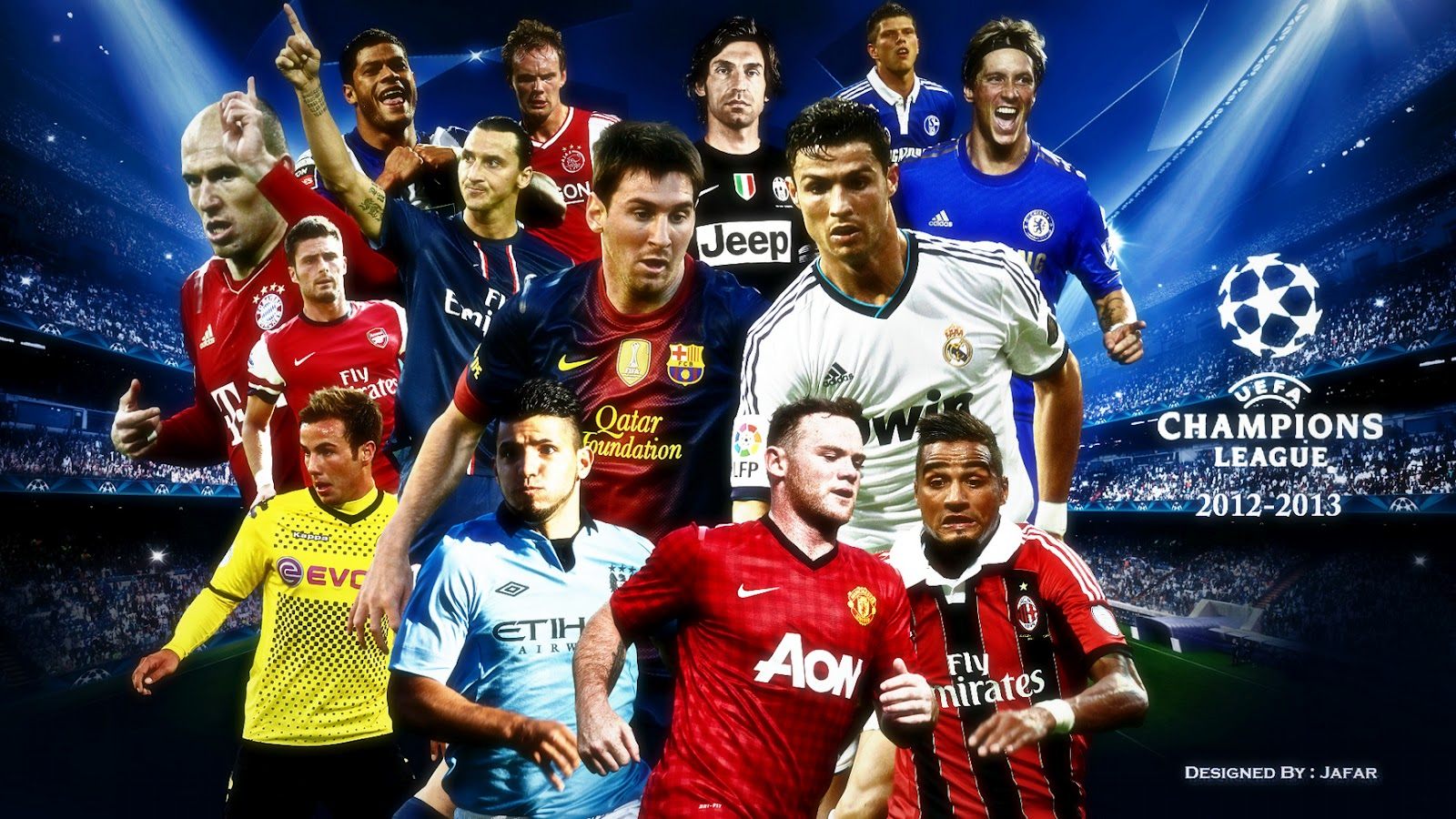 Jadwal Liga Champions: Jadwal Pertandingan 16 Besar Liga Champions Eropa 2013
