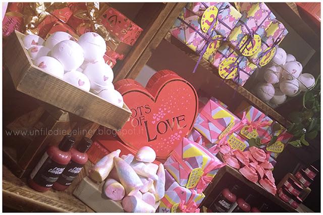 Idee per San Valentino? Tanto amore da Lush ♥