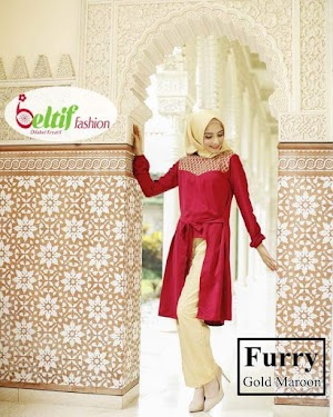 Baju Muslim Casual Dewasa Furry By Beltif Fashion