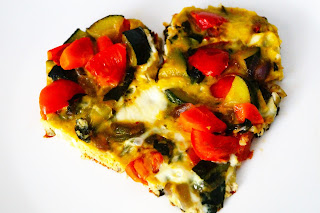frittata vegetariana light