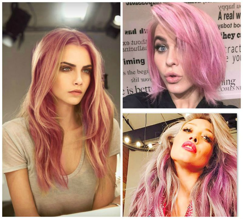 The Makeup Examiner Pretty In Pink Hair Trend Alert