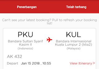 Travelling Pertama Kali ke Kuala Lumpur 2018