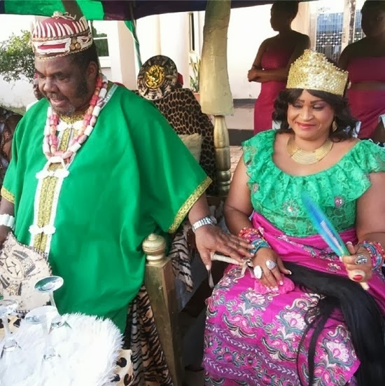pete edochie returns to nollywood