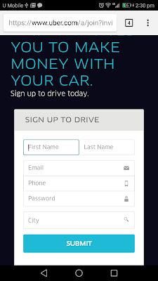 daftar pemandu uber