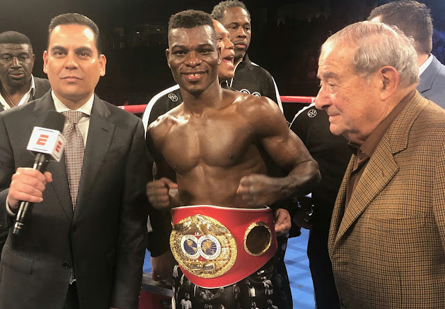 Richard Commey defs. Isa Chaniev via KO2 Claims vacant IBF lightweight title