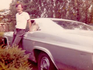Doug Smith and his Chevy Impala