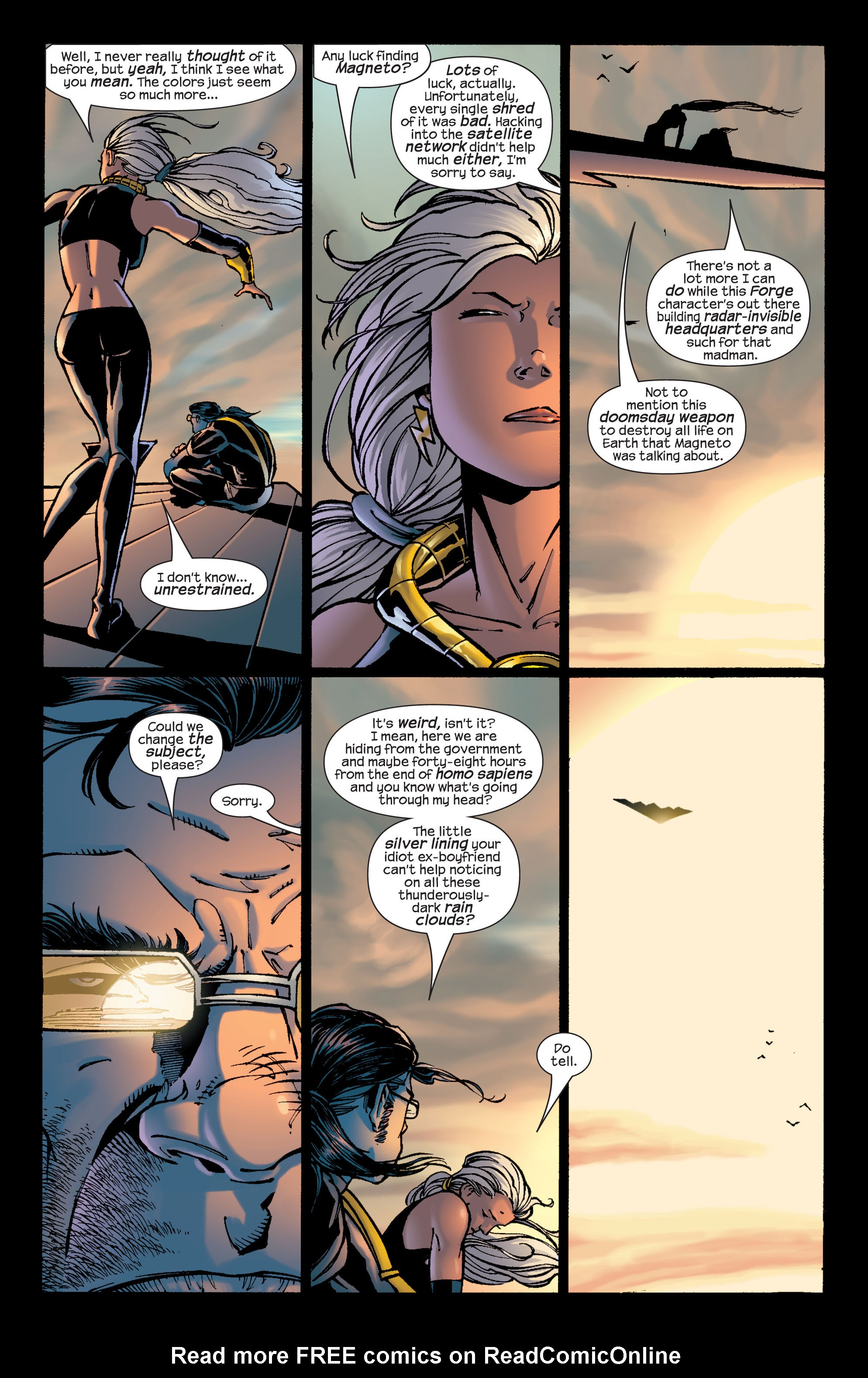 Read online Ultimate X-Men comic -  Issue #29 - 17