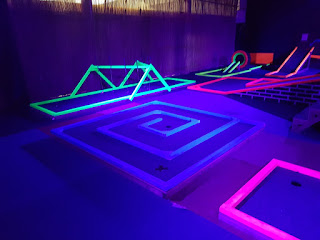 UV Crazy Golf at One Adventure in Droylsden