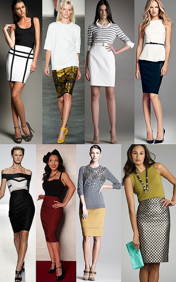 Pencil Skirt 2013 Latest Designs Fashion Point