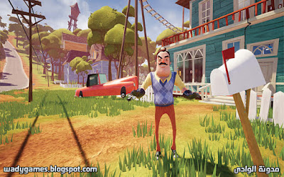 لعبة hello neighbor من ميديا فاير